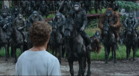 La Planète des Singes - L'Affrontement (Dawn of the Planet of the Apes) de Matt Reeves
