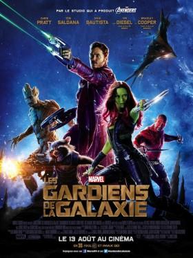 Les Gardiens de la Galaxie de James Gunn - affiche
