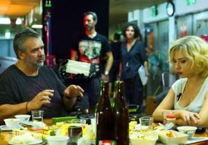 Luc Besson et Scarlett Johansson - Lucy