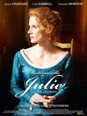 Mademoiselle Julie de Liv Ullman - poster