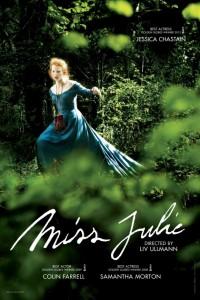 Mademoiselle Julie de Liv Ullmann - poster