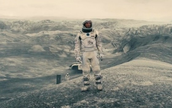 Matthew McConaughey dans Interstellar de Christopher Nolan