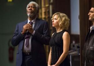 Morgan Freeman et Scarlett Johansson - Lucy de Luc Besson