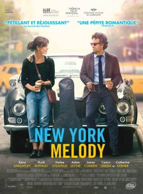 New York Melody de John Carney - affiche