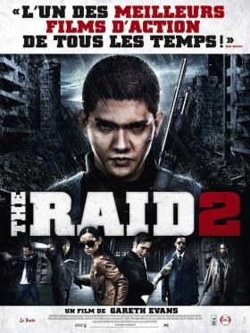 The Raid 2 de Gareth Evans - affiche