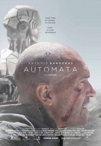 Automata avec Antonio Banderas - affiche