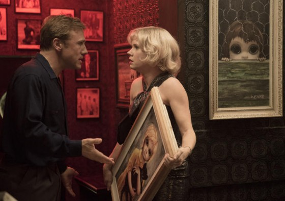 Christoph Waltz et Amy Adams dans Big Eyes de Tim Burton