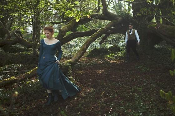 Colin Farrell et Jessica Chastain - Mademoiselle Julie de Liv Ullmann / © Pretty Pictures