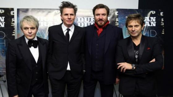 Duran Duran lors de la première de Duran Duran Unstaged au MoMA en 2013