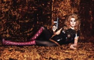 Jane Fonda en Gucci - photo Bobby Doherty pour le NY Mag