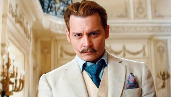 Johnny Depp dans Mortdecai de David Koepp