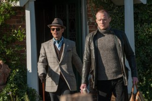 Johnny Depp et Paul Bettany dans Mortdecai de David Koepp