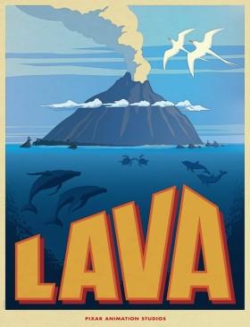 Lava de Pixar - affiche