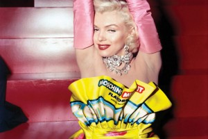 Marilyn Monroe en Moschino - Photo Bobby Doherty pour le NY Mag