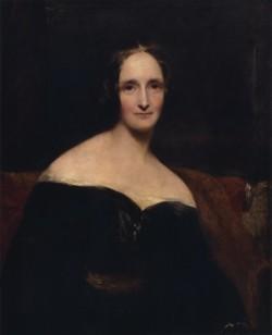 Portrait de Mary Shelley par Richard Rothwell / Photo Wikipedia