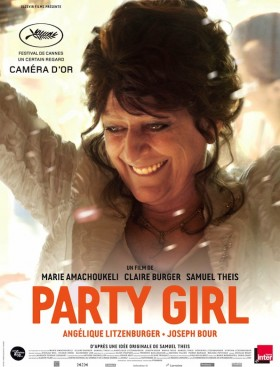 Party Girl de Marie Amachoukeli, Claire Burger et Samuel Theis - affiche