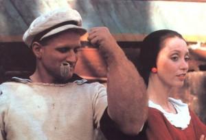 Popeye de Robert Altman (1980) avec Shelley Duvall