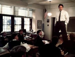 Robin Williams - Le Cercle des Poètes disparus de Peter Weir (1989)