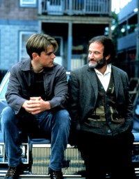 Robin Williams et Matt Damon - Good Will Hunting de Gus Van Sant (1987)