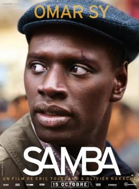 Samba de Eric Toledano et Olivier Nakache - affiche