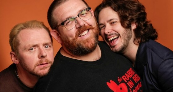 Simon Pegg, Nick Frost et Edgar Wright
