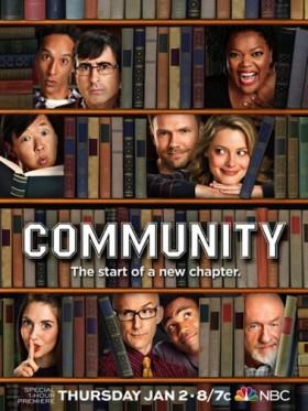 Community saison 5 sur NBC - affiche