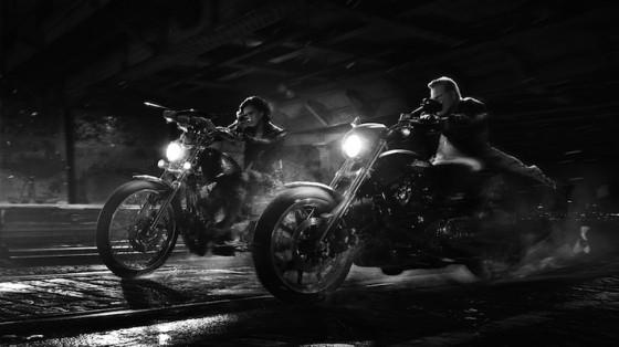 Jessica Alba, Mickey Rourke dans Sin City Jai tue pour Elle