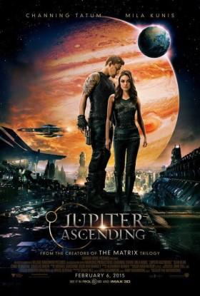 Jupiter Ascending de Lana et Andy Wachowski - affiche