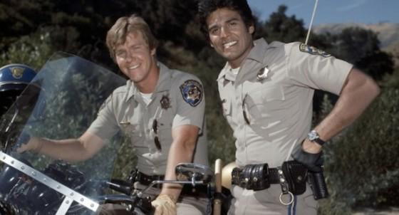 Larry Wilcox et Erik Estrada - CHiPs serie TV