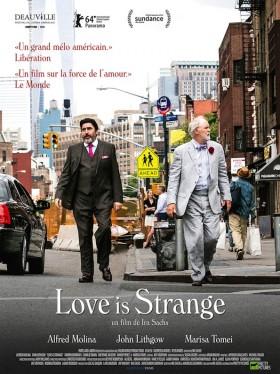 Love is Strange de Ira Sachs - affiche