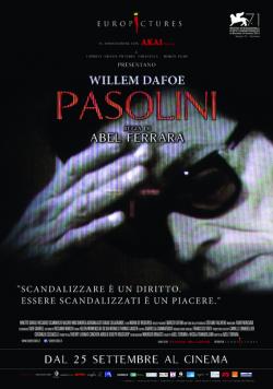 Pasolini de Abel Ferrara - affiche italienne