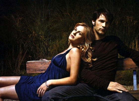 Sookie Stackhouse (Anna Paquin) et Bill (Stephen Moyer) dans True Blood - HBO