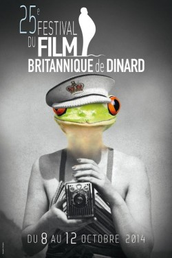 25e fesitval britannique de Dinard - affiche
