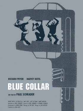 Blue Collar de Paul Schrader - affiche