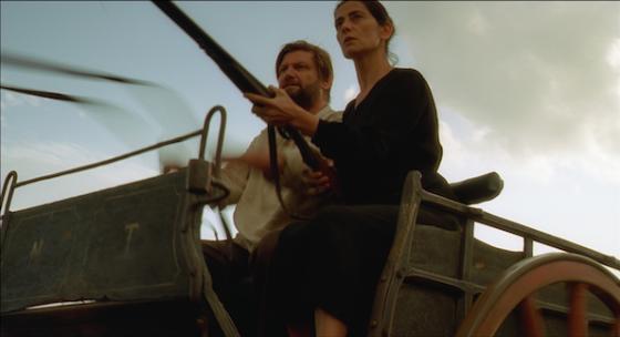 Hiam Abbass et Patrick le Mauff dans Mateo Falcone de Eric Vuillard