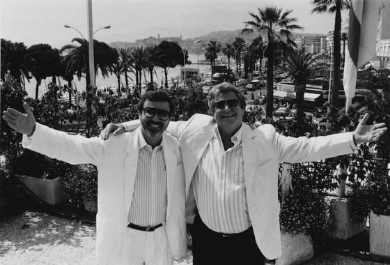 Menahem Golan et Yoram Globus - Festival de Cannes (1987) - Paradis Films