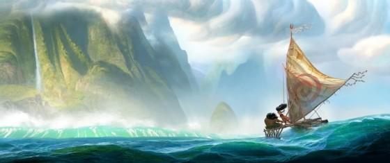 Moana - premier concept art de Disney