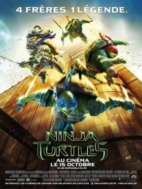 Ninja Turtles de Jonathan Liebesman - affiche