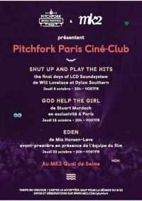 Pitchfork Paris Ciné-Club - affiche