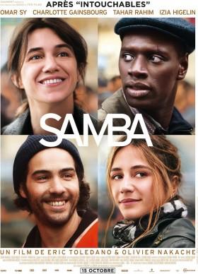 Samba de Eric Toledano et Eric Nakache - affiche