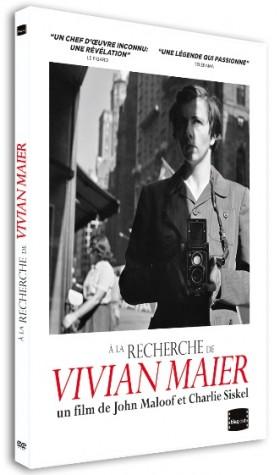 A la Recherche de Vivian Maier - jacquette dvd