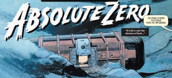 Absolute Zero comic book - Interstellar de Christopher Nolan