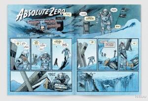 Absolute Zero comic book - Interstellar