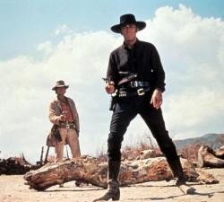 Charles Bronson et Henry Fonda dans Il etait une fois dans l'Ouest (1968)