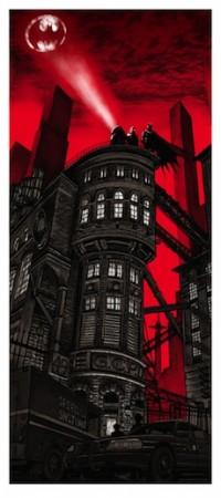 Gotham PD de Tim Doyle - Expo One Year of Batman à la Galerie Oppidum à Paris