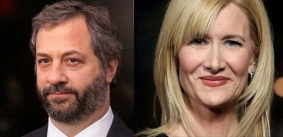 Judd Apatow et Laura Dern