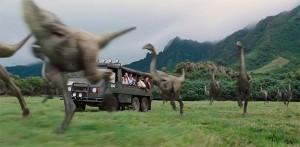 Jurassic World les dinosaures
