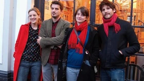 Mia Hansen-Love et son frere Sven, Pauline Etienne et Felix de Givry pour Eden - Photo CineChronicle