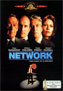 Network main basse sur la television - affiche