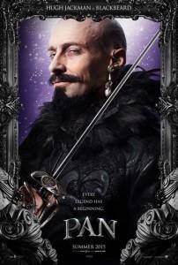 Poster des personnages - Hugh Jackman dans Pan de Joe Wright